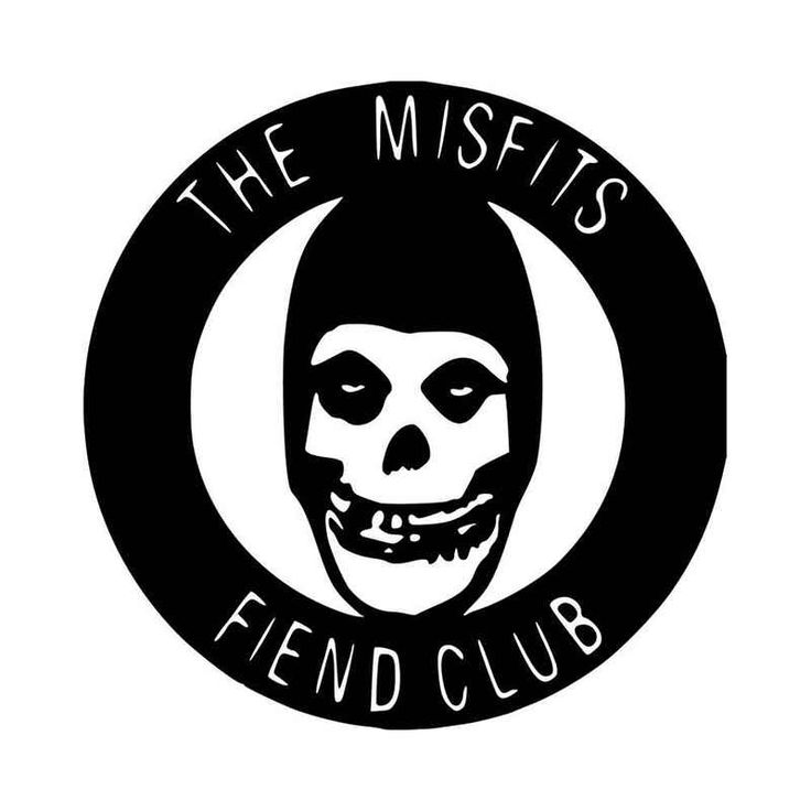 The Misfits Fiend Club Vinyl Decal Sticker  BallzBeatz . com