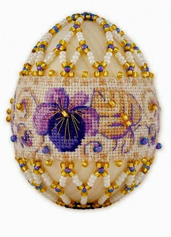 """Милые сердцу штучки: Вышивка крестом: """"Пасхальные яйца"""" (подборка схем)..."""