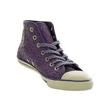 Converse Dainty Mid Sparkle - 544955C - Purple - Womens Womens Trainers Purple