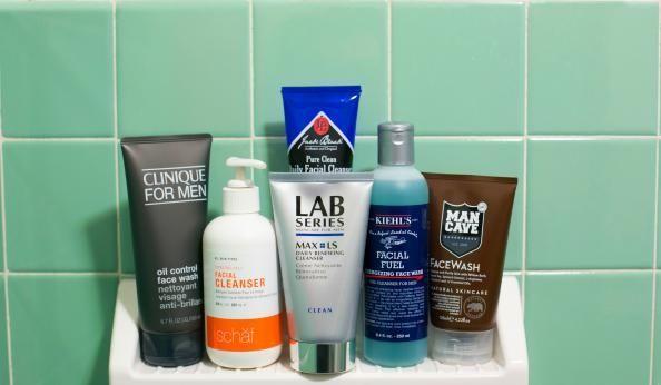 Men facial cleansers