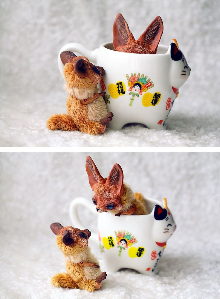 17 best images about mixed media 3d art on pinterest - Pagina da colorare fennec fox ...