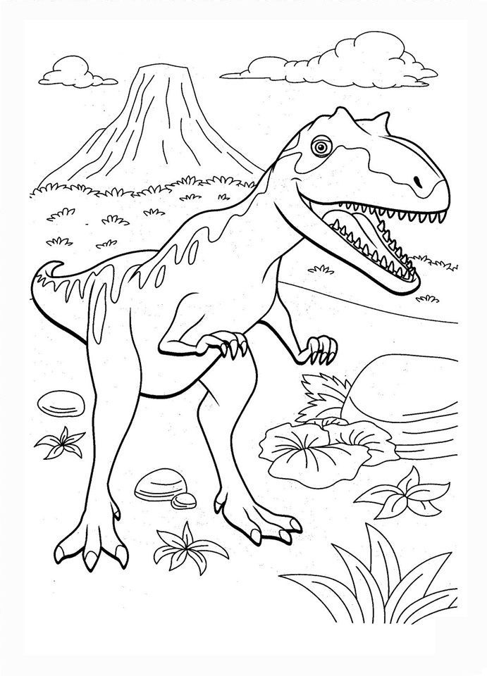 Dinosaur Train Coloring Pages 04