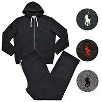 Polo Ralph Lauren Mens Sweat Suit Athletic Sweats Zip Hoodie And Pants Set Nwt