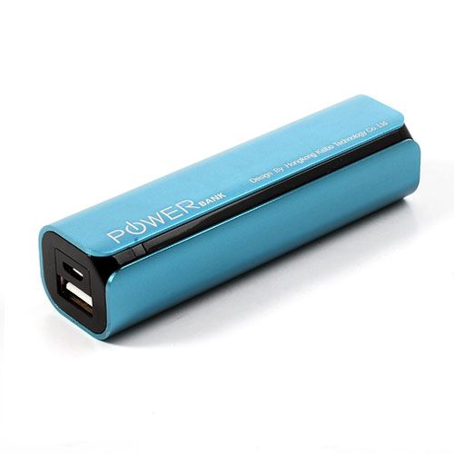 iPhone Spare Battery USB Power Bank 2600mAh - Electric Blue
