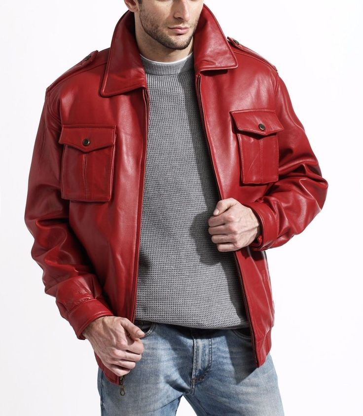37 best man's jacket images on Pinterest | Leather jackets, Men's ...