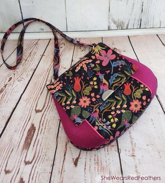 The Belinda Bag PDF Sewing Pattern by Cozy Nest Designs