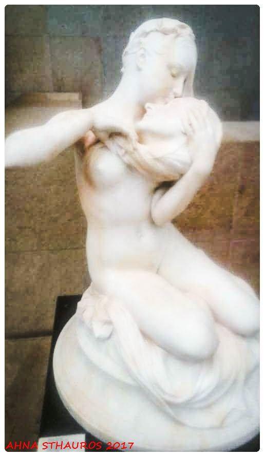 Museo de Orsay.  La Musa de Andrea Chenier.  de Denys Puech 1889 Orsay's Museum.   The Muse of Andrea Chenier by Denys Puech 1889