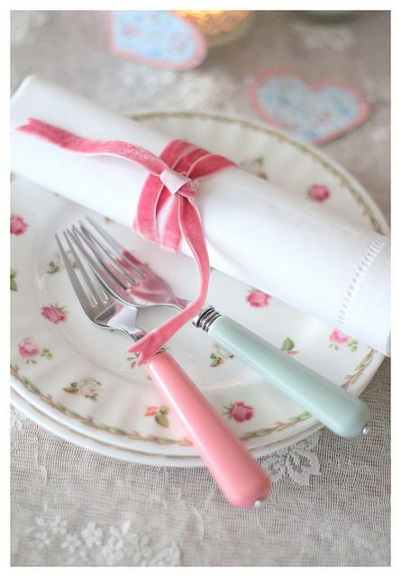 Pink by cafe noHut, via Flickr  so simply - so beautiful