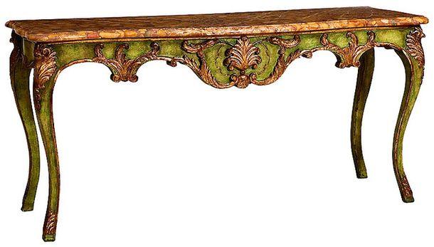 Марка Taillardat делает мебель в главных французских стилях: от Людовика XV до ампира. На фото – консоль Amélie, дерево, металл.