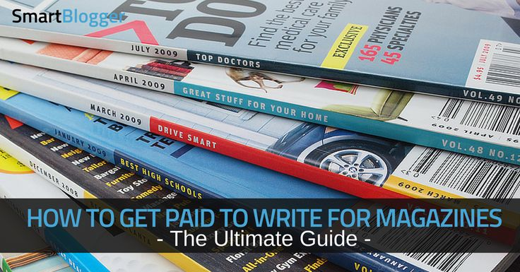 So you want to make money writing for top magazines? Read this step-by-step guide by a professional writer who knows what it takes to get published - and paid.
