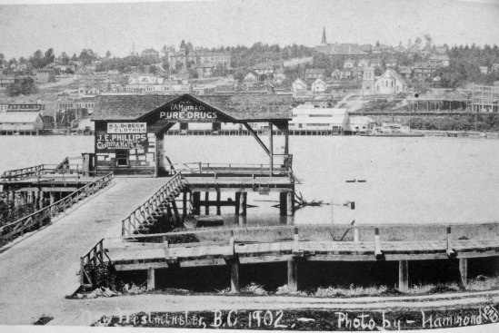 South Westminster Ferry Landing – Intact in 1902