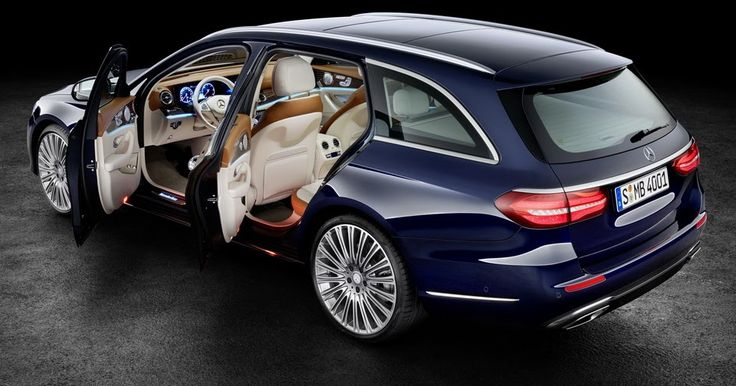 New Mercedes E-Class Estate Starting From £37,935 In The UK #Galleries #Mercedes