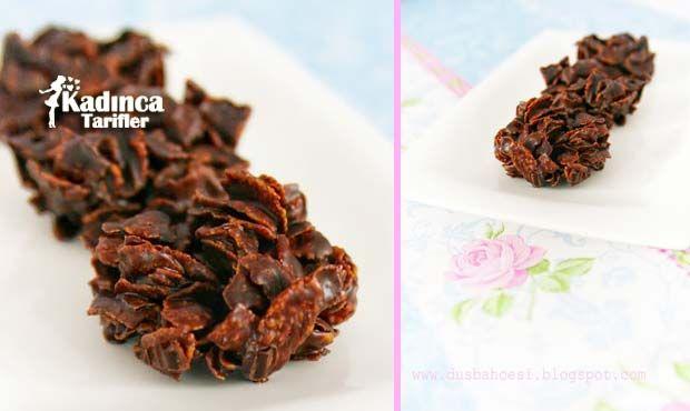 Mısır Gevrekli Çikolata Tarifi en nefis nasıl yapılır? Kendi yaptığımız Mısır Gevrekli Çikolata Tarifi'nin malzemeleri, kolay resimli anlatımı ve detaylı yapılışını bu yazımızda okuyabilirsiniz. Aşçımız: Düş Bahçesi