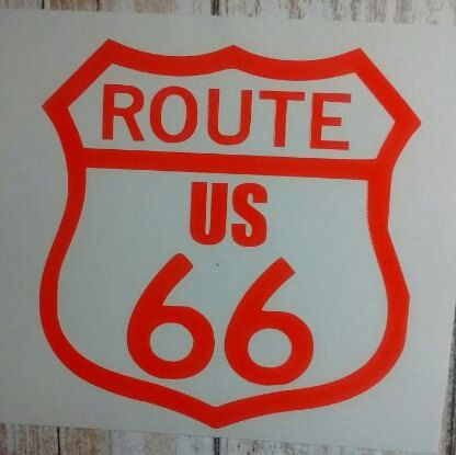 Check out this item in my Etsy shop https://www.etsy.com/listing/507965697/route-66-decal-route-66-sticker-route