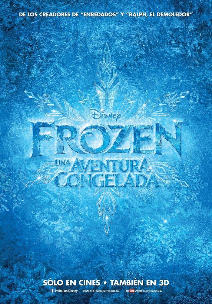 Frozen: Una Aventura Congelada   Poster Teaser