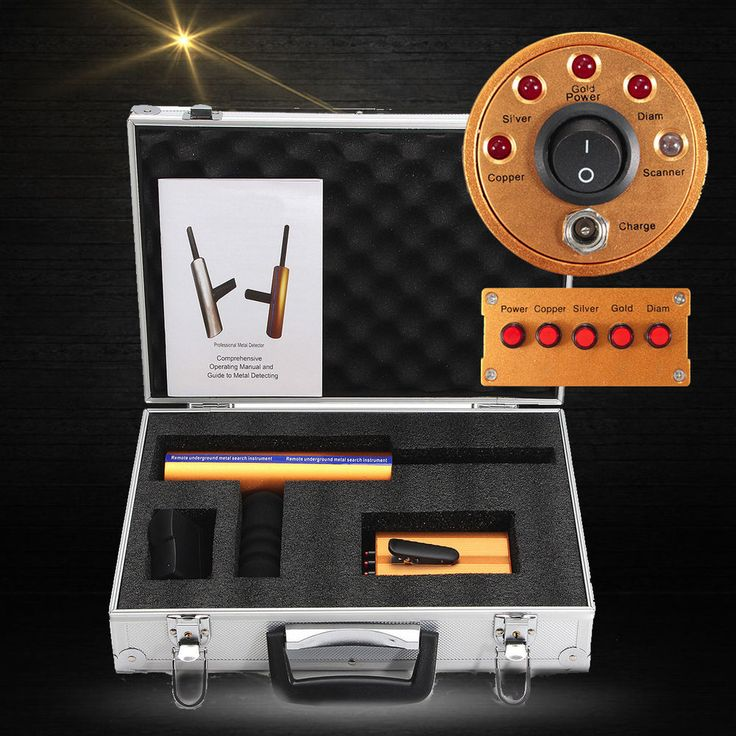 Handhold 3D Professional Metal/Gold Detector Long Range ...
