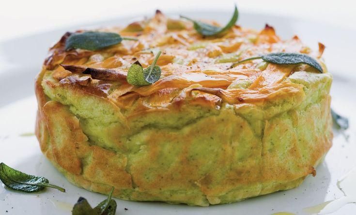 Sformatino di ricotta, patate e salvia ricetta