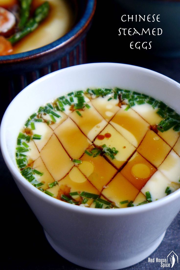 Chinese steamed eggs, a perfectionist's guide (蒸蛋羹) – Red House Spice