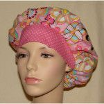 Poppy Bouffant Surgical Scrub Hat Pattern