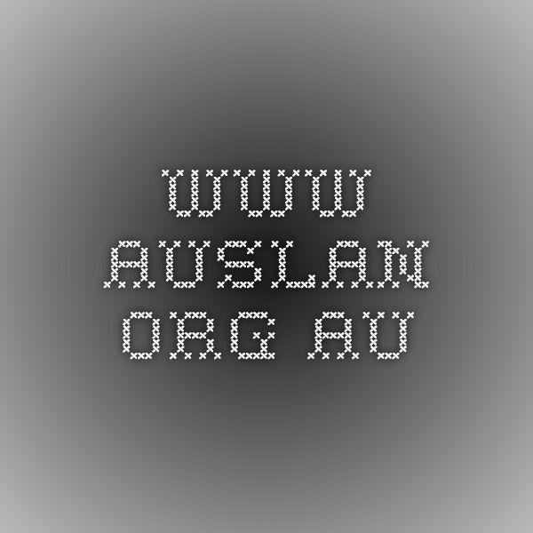 www.auslan.org.au