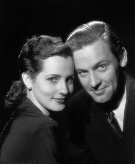 William Holden & Brenda Marshall