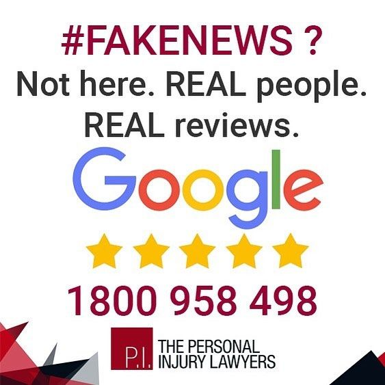 We don't need to make fake reviews. Read REAL Reviews from REAL clients. Find out more:  http://ift.tt/2hCOg9C  #injury #help #lawyers #legal #personalinjury #personalinjurylawyers #goldcoast #brisbane #australia #compensation #illnesses #complications #workinjury #accident #backinjuries #motoraccident #roadaccidents #rehabilitation #rehab #neckinjury #witnesses #queensland #workinjury #reviews #fakenews #realreviews