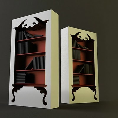 Even Bookcases Have Inner Beauty.