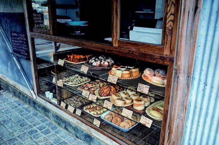 古民家をリノベーションしたパン屋さんです山梨県韮崎市にあります。