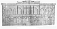 St Helens, Merseyside - Wikipedia, the free encyclopedia A contemporary sketch of the original Town Hall, built 1839.