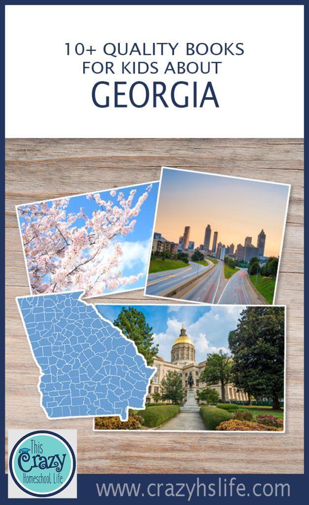 Georgia|Georgia Books| Georgia with Kids| Educational Georgia| Georgia Children's Books|Atlanta Books| Atlanta Books for Kids