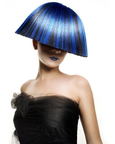 präsentiert von www.my-hair-and-m… #women #hair #haare #blue #blau #schwarz #…