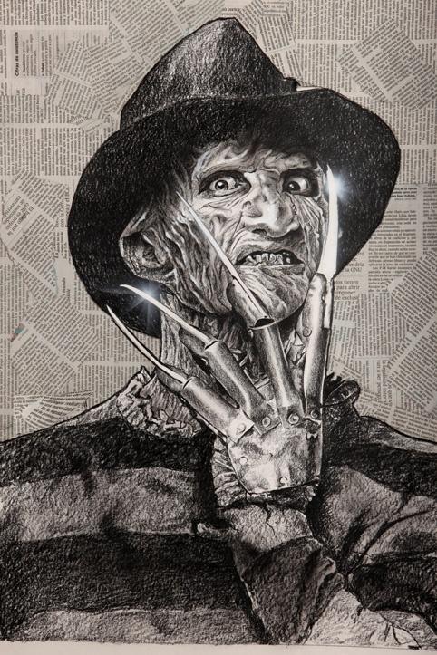 Freddy krueger nightmare on elm street Comic Art