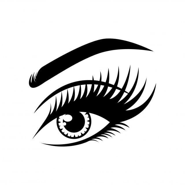 Resnicy Logotip Znachok Vektor Shablona Glaza Klipart Cherno Belyj Logotip Znachki Shablona Png I Vektor Png Dlya Besplatnoj Zagruzki Eyelash Logo Icon Design Eye Illustration