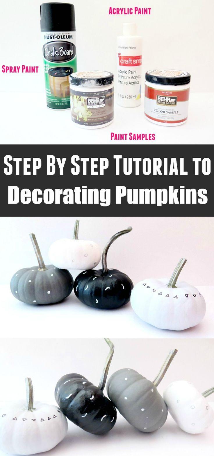 109 best Pumpkin Decorating images on Pinterest | Holidays halloween ...