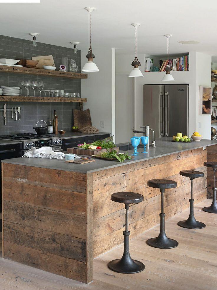Mega taquilla isla de cocina casa totoral lago - Islas para cocinas ...