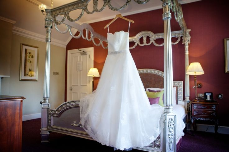 The Bridal suite at East Lodge Hotel Rowsley, Derbyshire