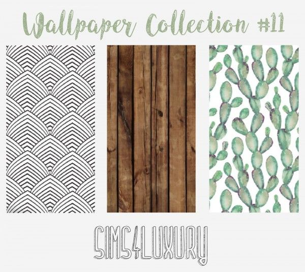 Sims4luxury Wallpaper Collection 11 Sims 4 Downloads