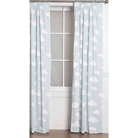Kids Napping Curtains Cloud Block Out Extra Large 205cm Drop