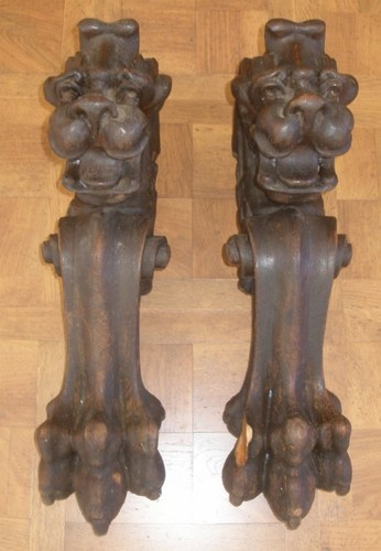 Antique Wood Mantle Fireplace