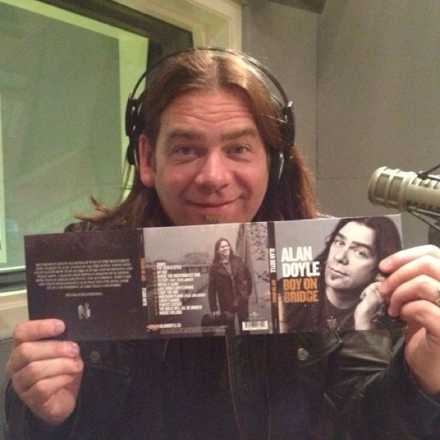 Alan Doyle of Great Big Sea launches his 1st Solo album on the 15th!!   Pick it up you won't be disappointed !!  Trust me!!!