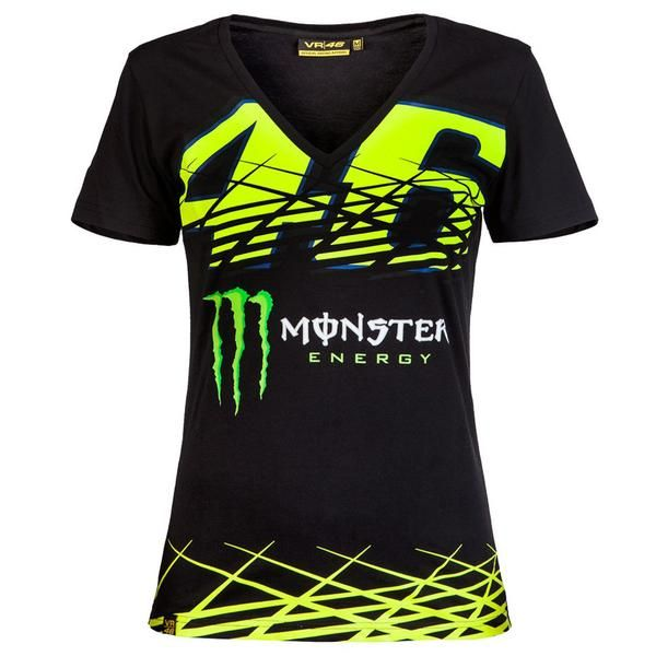 Valentino Rossi VR46 Moto GP Monza Monster Women's T-shirt Official 2016