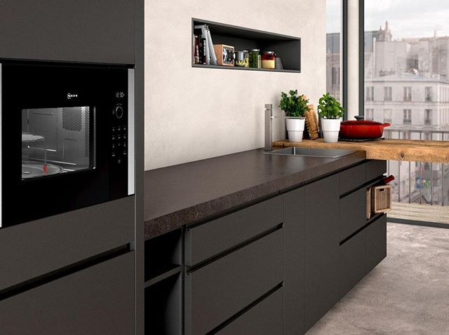 Meet Your New Best Friend This Neff Built In Microwave Can Save Countertop Space And Cooking Time And The N50 Mo In 2020 Kitchen Design Kitchen Style Luxury Kitchens