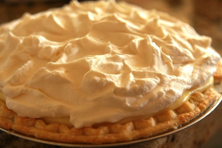 Banana Cream Pie (I can't believe I haven't pinned a recipe for this before now.)
