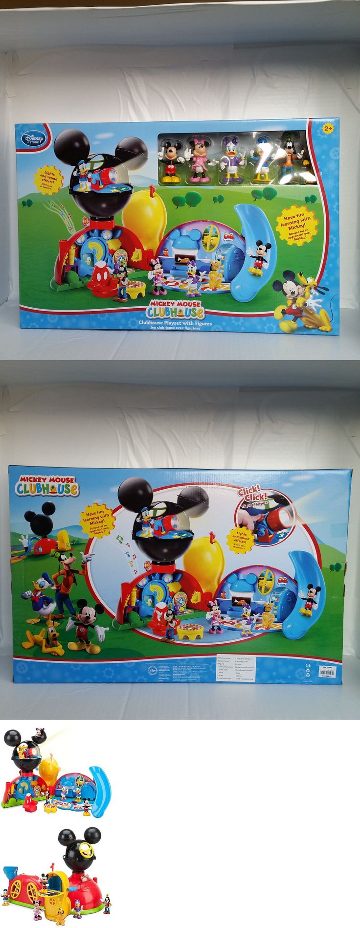 Mickey 19219: Disney Store Deluxe Mickey Mouse Clubhouse Play Set Toy 6 Figure Lights Sounds -> BUY IT NOW ONLY: $149.95 on eBay!
