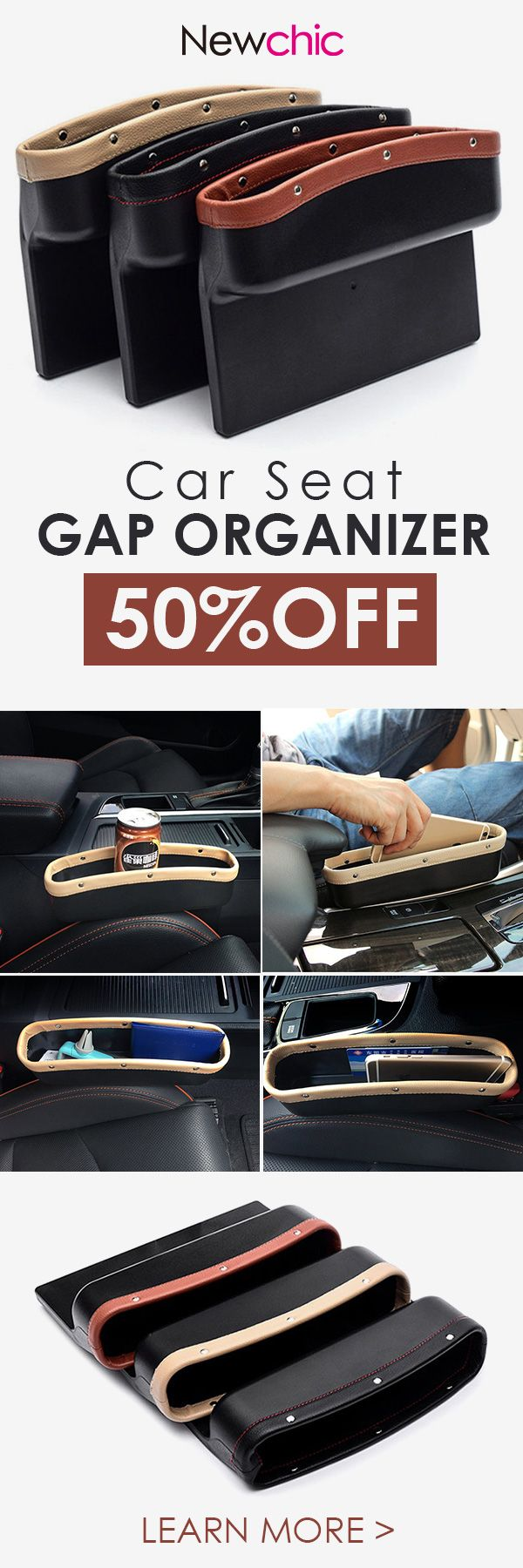 Car Seat Gap Organizer for Universal Cars#newchic#cars#storage#organizer