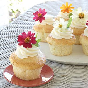 These light little bites are the most adorable sweet treats for an afternoon tea. Edible flowers were especially popular during Queen Victoria's reign; we think she would be pleased with this addition to tea time. Be sure your blossoms are nonpoisonous and free of pesticides. We've listed a few below that we think are lovely for any garden party.