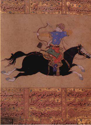 Ottoman horse archer #archer #history