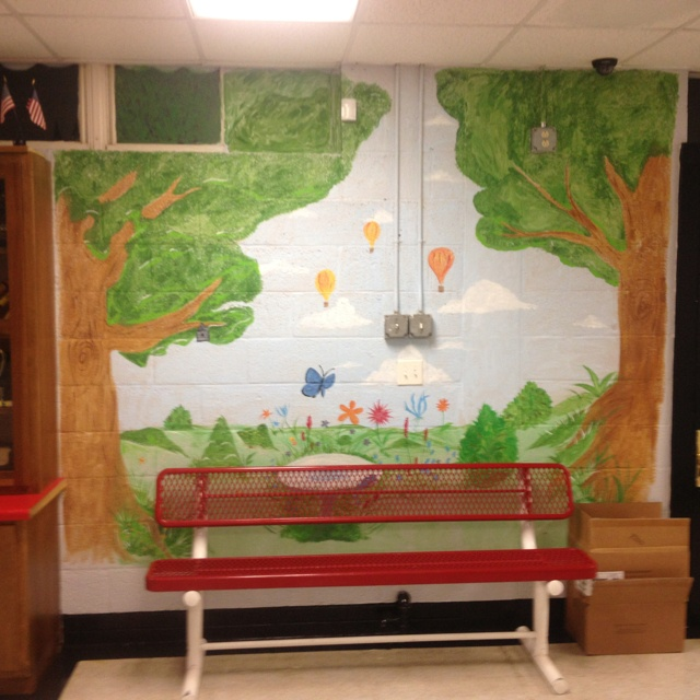 1000 images about school mural ideas on pinterest for Elementary school mural ideas