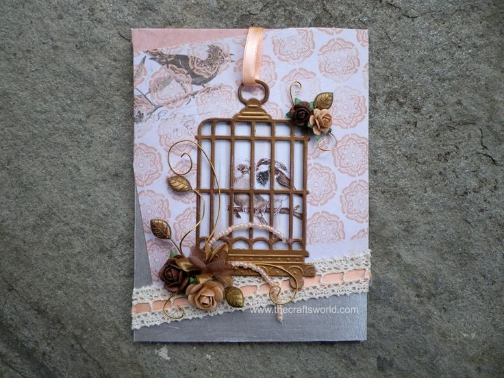 Birdcage window card