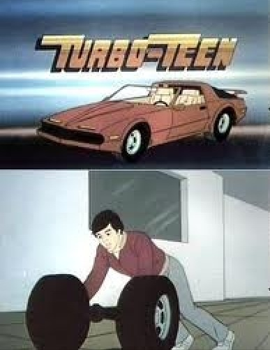 Cheesy Cartoon Where A Teenager Turned Into A Sports Car Whenever He Got  Hot. He Had To Cool Off To Transform Back.